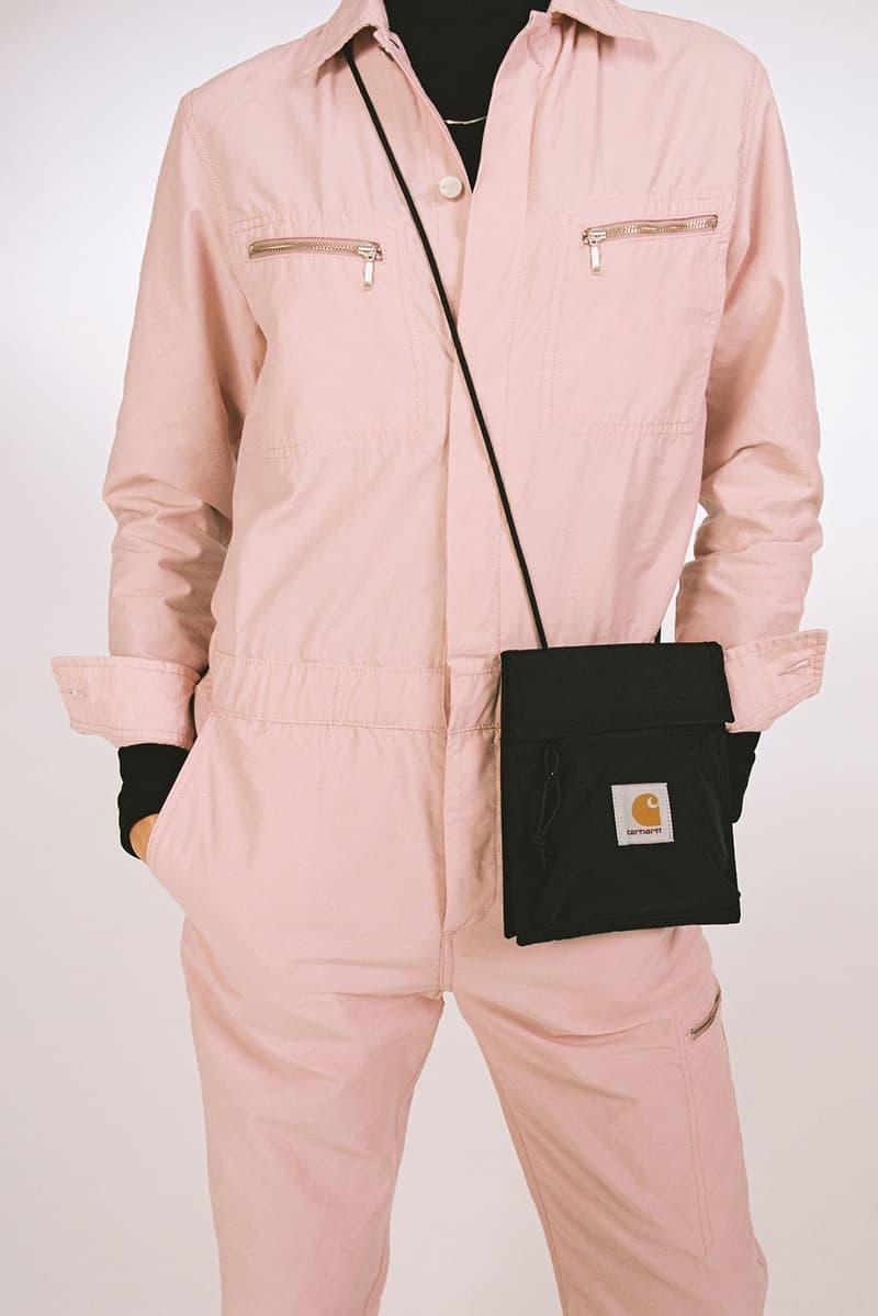 carhartt wip fall winter womenswear lookbook gore-tex bucket hats jackets jumpsuits