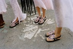 Picture of Cecilie Bahnsen Adds Delicate Floral Detailing to Suicoke Sandals