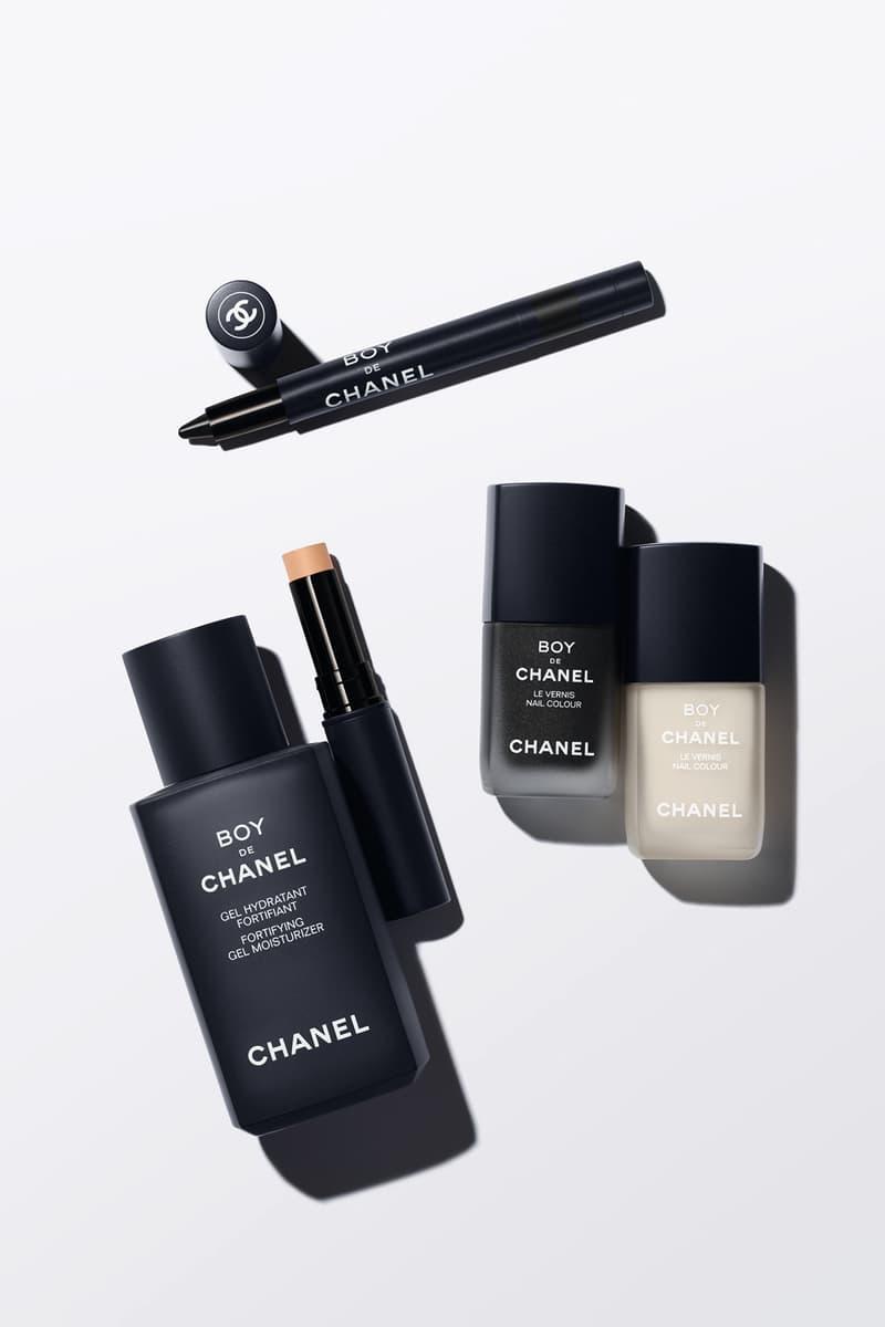 Chanel Beauty Makeup Mens Boy de Collection Nail Polish Eyeliner Concealer