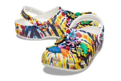Take a Closer Look at Chinatown Market's Tie-Dye Crocs Created With Grateful Dead