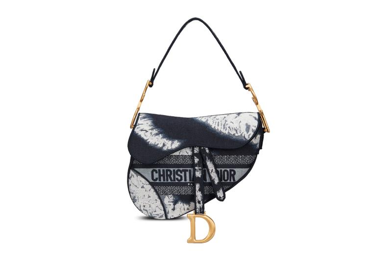 Dior Tie-Dye Accessories Collection Saddle Bag Book Tote Luxury Sneaker Wallet Phone Case