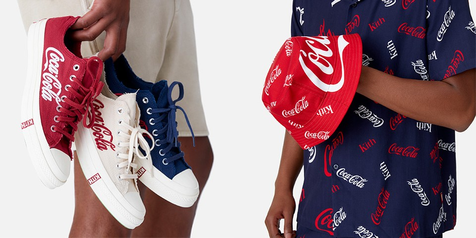 Here's a Full Look at KITH's Fifth Collaboration With Coca-Cola