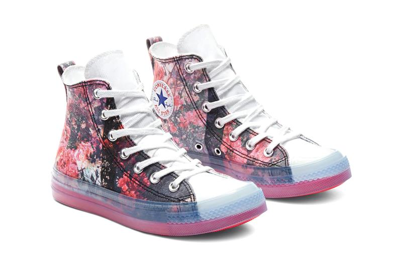 converse shaniqwa jarvis collaboration chuck taylor all star cx sneakers pink purple blue white colorway sneakerhead footwear shoes