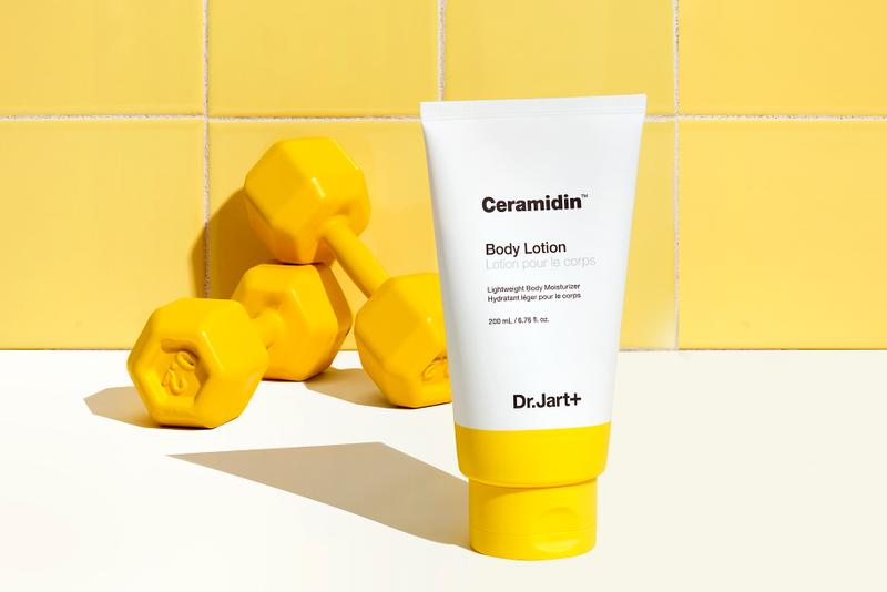 Dr. Jart+ Adds Body Lotion to Ceramidin Collection Skincare Ceramide Hydration Fall Winter Product Release