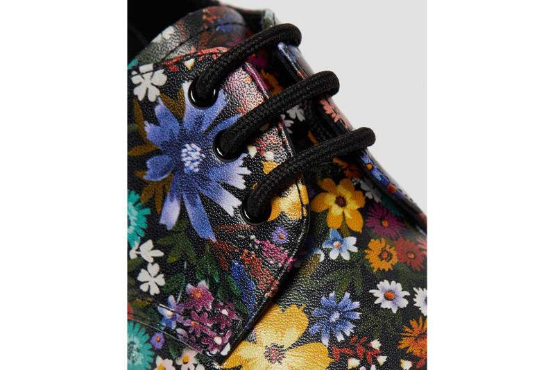 dr martens wanderlust pack 1460 floral lace up boots 1461 oxford shoes black footwear