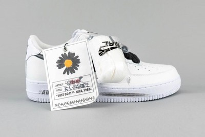 Your Best Look Yet at G-Dragon's New PEACEMINUSONE x Nike Air Force 1