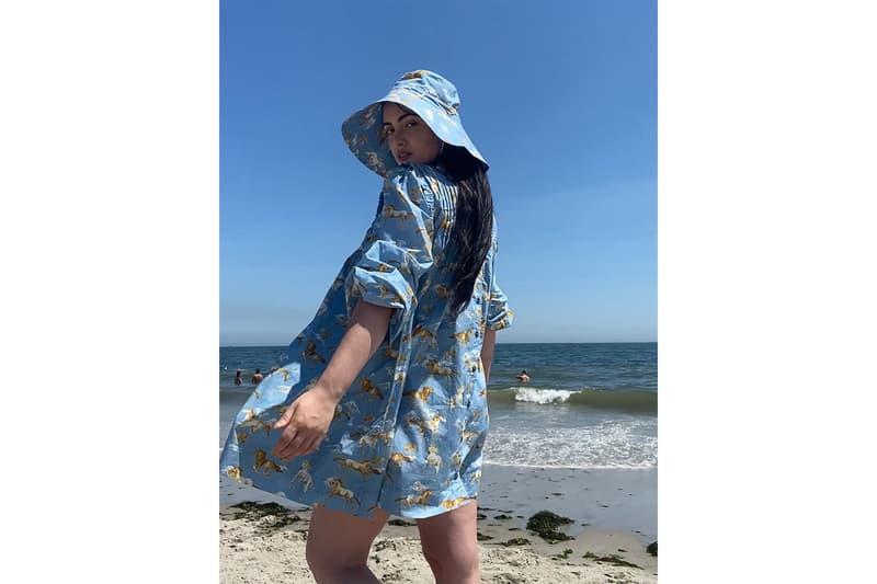 ganni summer love capsule matchesfashion dresses hats shirts shorts chili dia otegha uwagba chloe wise