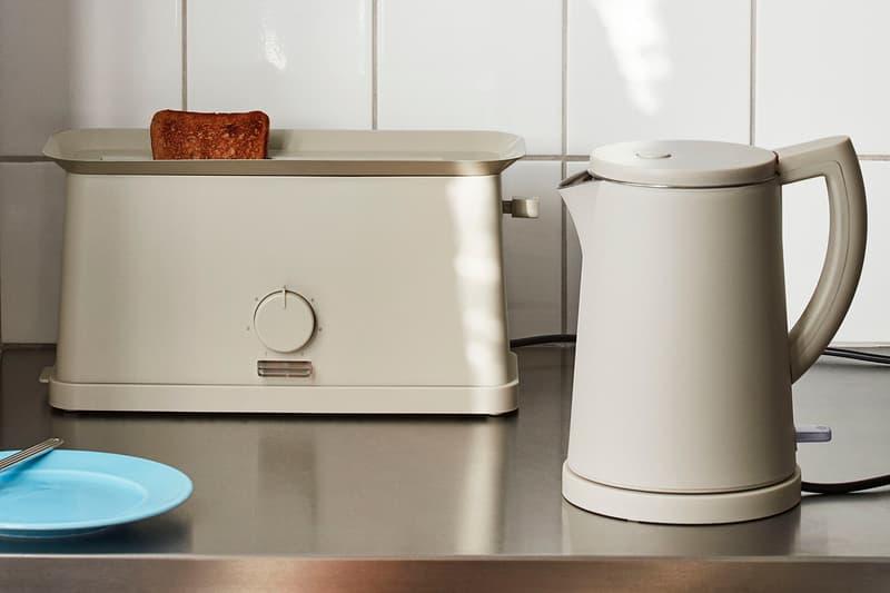 HAY Toaster Electric Kettle George Sowden Kitchen Appliances Denmark Danish Design Home Scandinavian Grey Gray