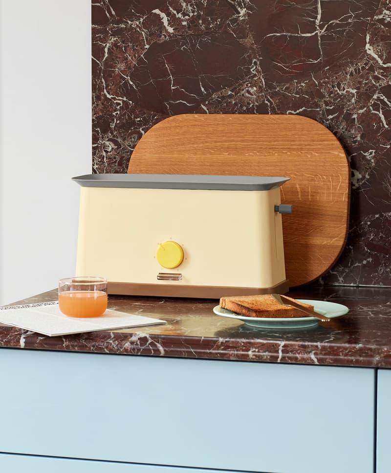HAY Toaster George Sowden Kitchen Appliances Denmark Danish Design Home Scandinavian Pastel Yellow