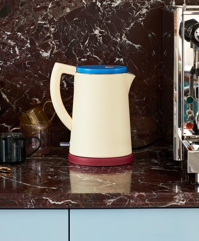 HAY Electric Kettle Pastel Yellow George Sowden Kitchen Appliances Denmark Danish Design Home Scandinavian
