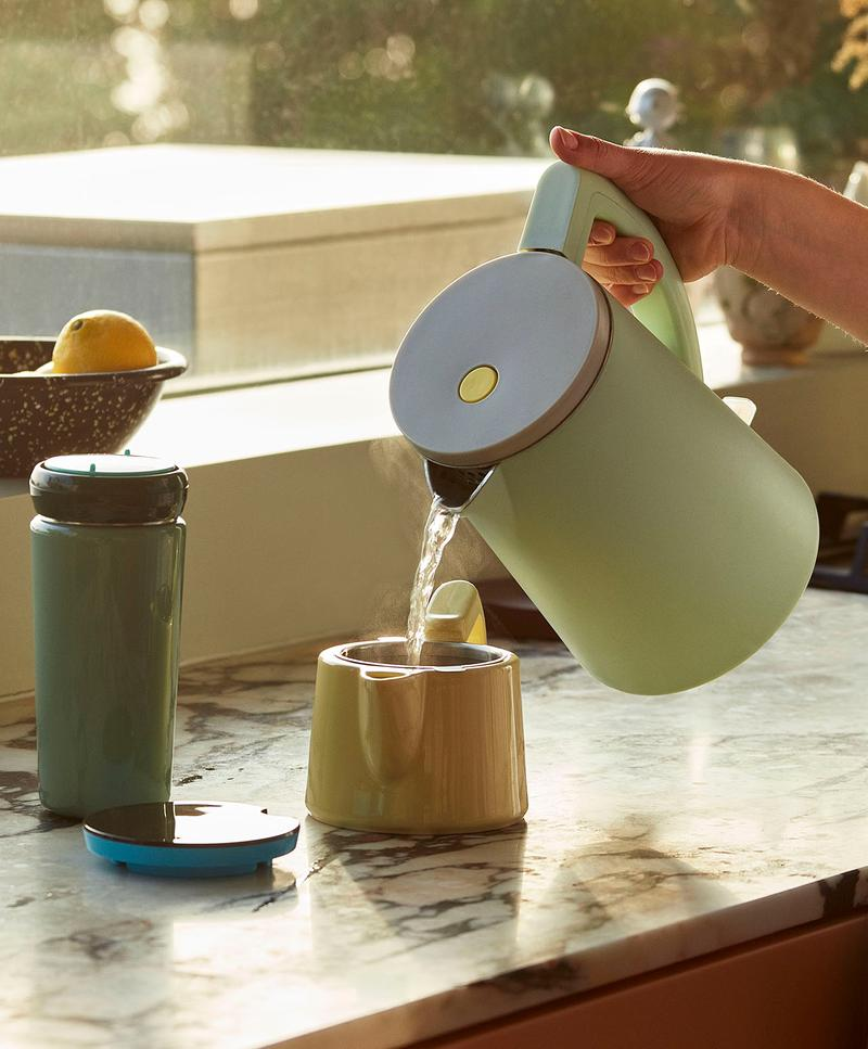 HAY Electric Kettle Teapot George Sowden Kitchen Appliances Denmark Danish Design Home Scandinavian Pastel Green