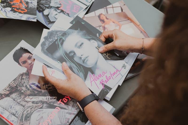 IMG Models Model Magazine Covers Teyana Taylor Alina Bolotina Comp Cards