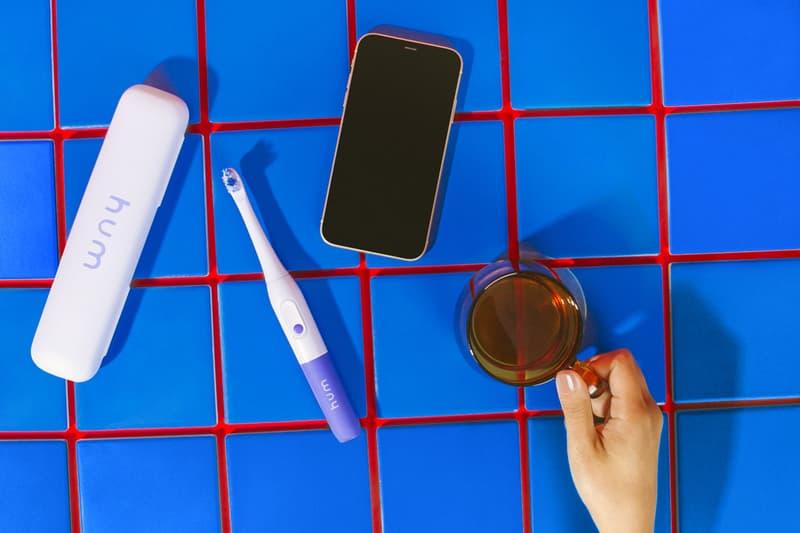 hum by colgate smart electric toothbrush app dental hygiene purple blue green pastel