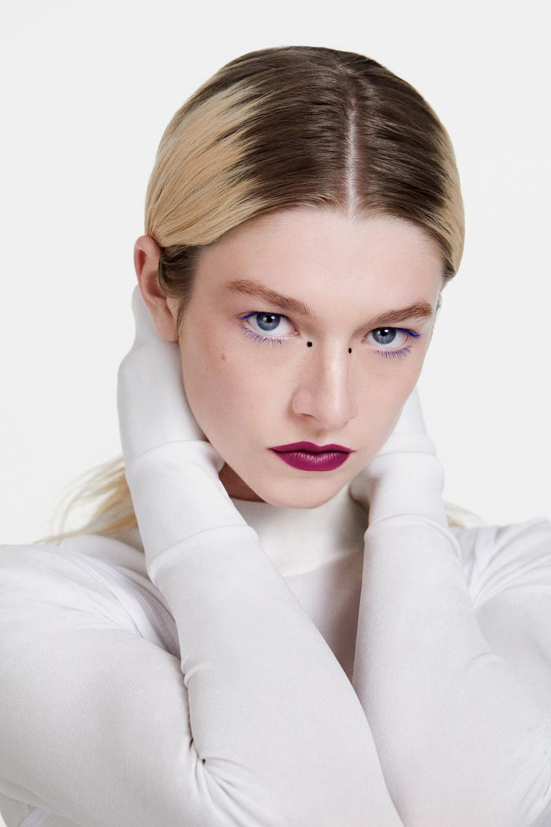 Hunter Schafer Shiseido Global Makeup Brand Ambassador Japanese Beauty Campaign Euphoria Actress Model