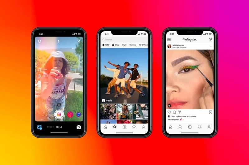 instagram reels facebook apps social media