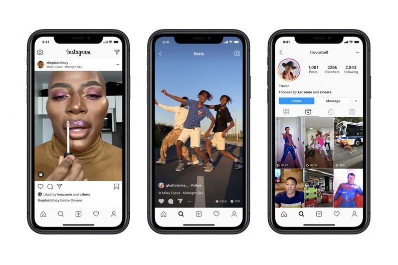 Instagram Launches New Reels Feature in the UK Video TikTok Competitor App