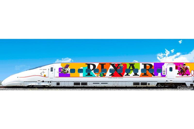 Disney Pixar Toy Story Themed Bullet Train Japan Characters Designs Exclusive