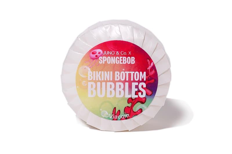 juno and co spongebob squarepants collaboration microfiber sponge beauty blender soap bar patrick star gary