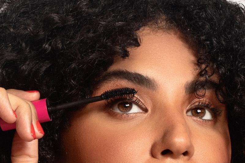 kosas the big clean mascara volumizing lash care smudge proof eye makeup release