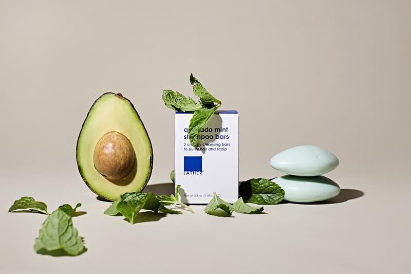 shampoo bar lather eco-friendly sustainable zero plastic waste alternative mint avocado coconut oil haircare