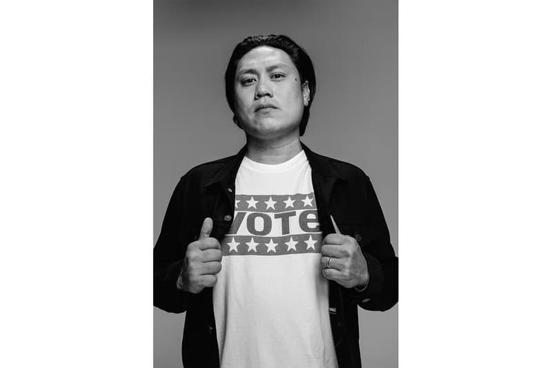 levis election vote campaign public service announcement hailey bieber jaden smith oge egbuonu november 3