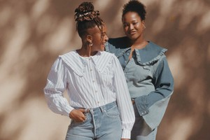 Picture of Levi's and GANNI Join Forces for a Rental-Only, Sustainable Denim Collaboration