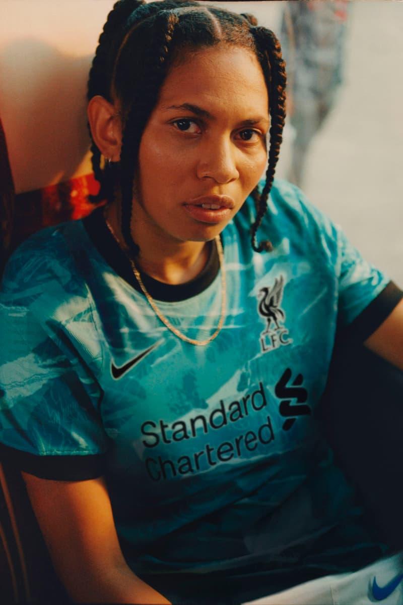 Lil C Women's Football Supporter Interview Liverpool Fan Kit Reveal Away Soccer Female Sports