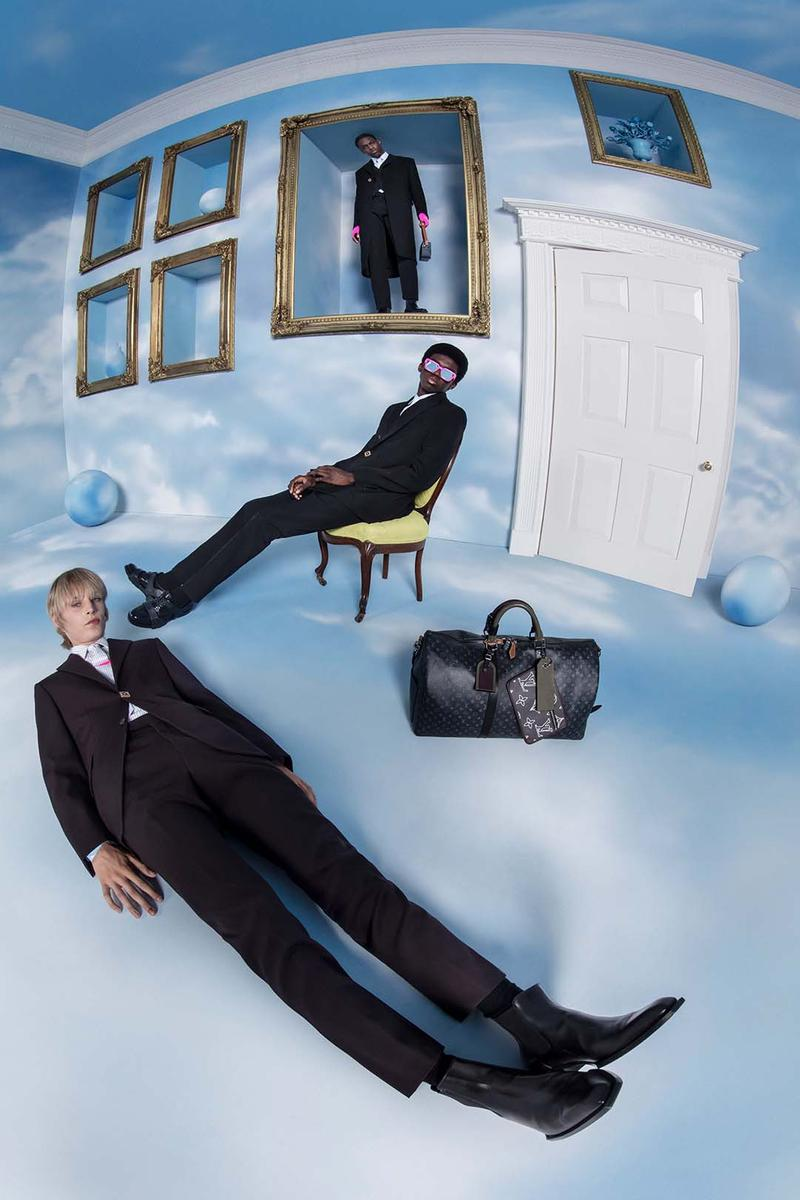 Louis Vuitton Fall/Winter 2020 Menswear Campaign Virgil Abloh Black Imagination Heaven on Earth Suiting Collection Lookbook