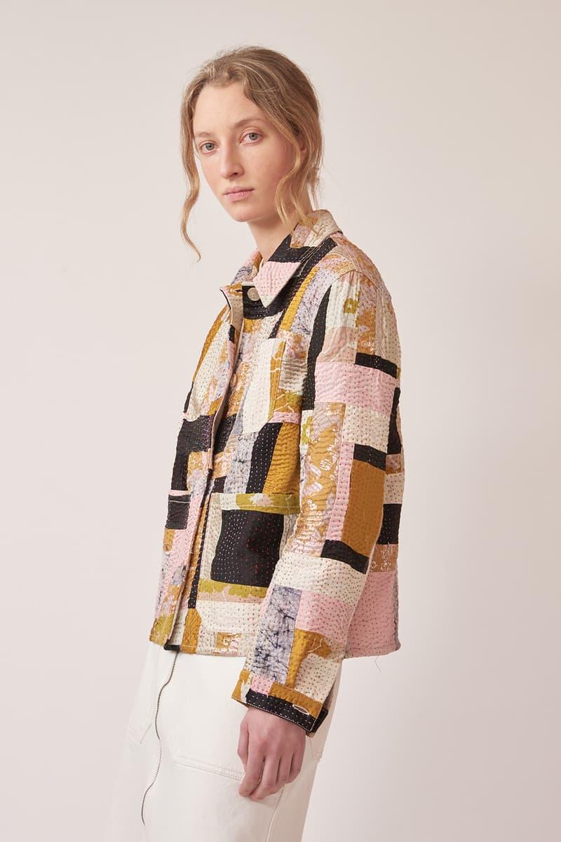 matchesfashion re ssone collaboration exclusive jackets skirt shirts upcycled sustainable