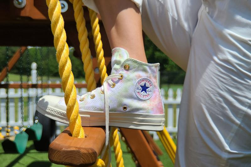 Millie Bobby Brown x Converse Chuck 70 Collaboration By You Custom Collection Tie Dye