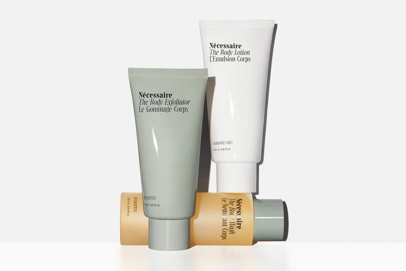 necessaire sephora partnership body care sustainable deodorant lotion wash exfoliator beauty