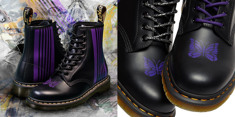 Dr. Martens Taps Needles for Its Eighth 1460 Remastered Collaboration