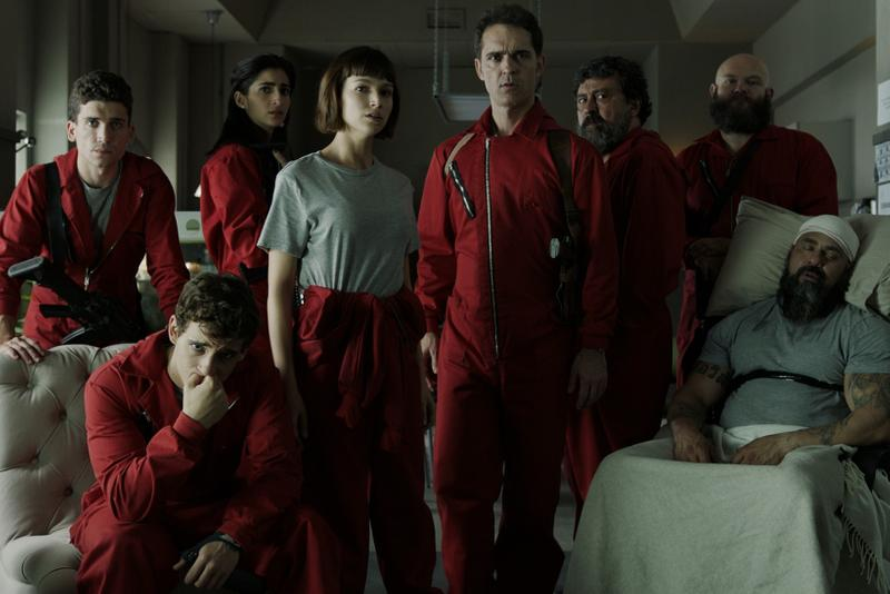 netflix money heist la casa de papel final last fifth season new cast members Miguel Ángel Silvestre Patrick Criado