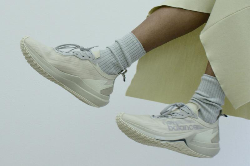 new balance auralee collaboration fuelcell speedrift sneakers cream white black sneakerhead footwear shoes