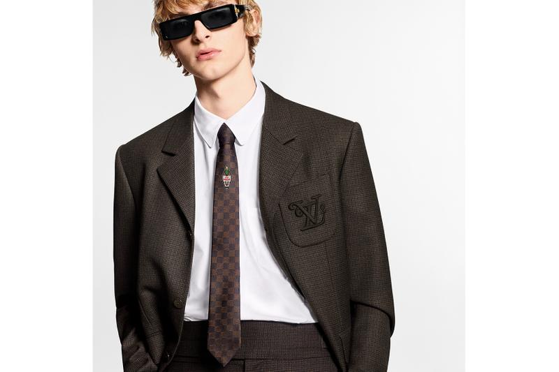 virgil abloh louis vuitton nigo lv2 drop 2 release info denim jackets keepall bags mod suit collaboration