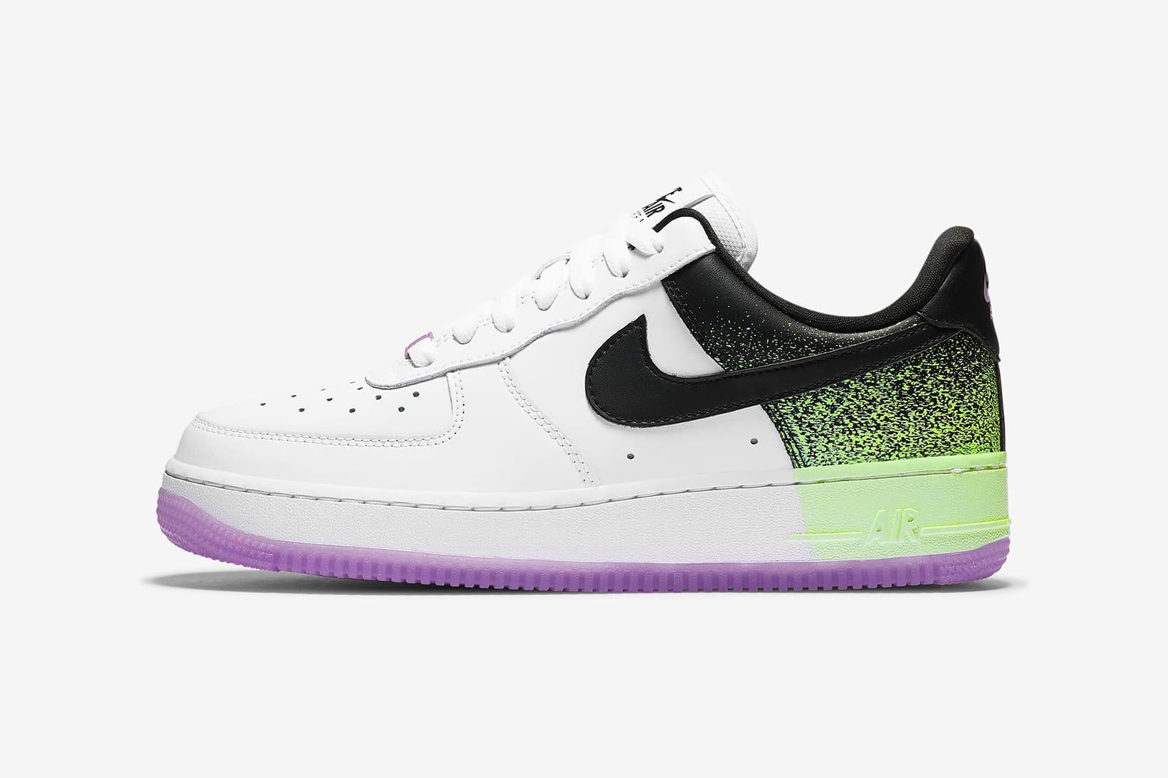 Air Force 1 '07 Neon Green/Purple
