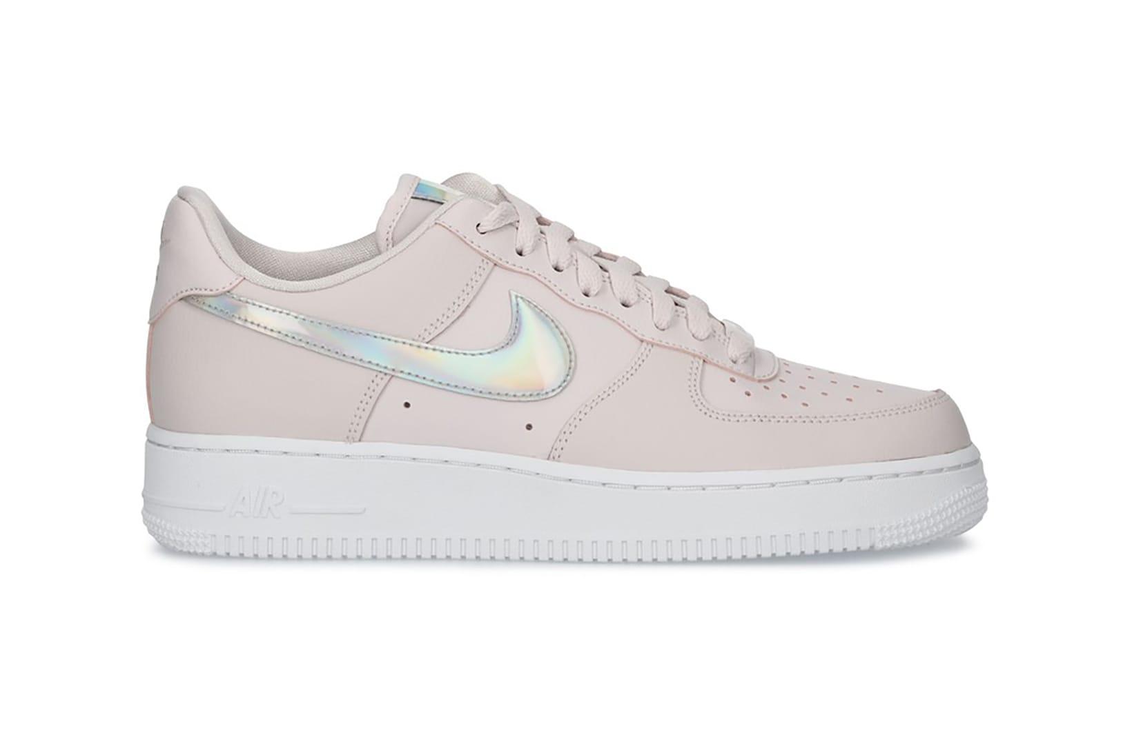 Nike Air Force 1 '07 Pastel Pink Silver