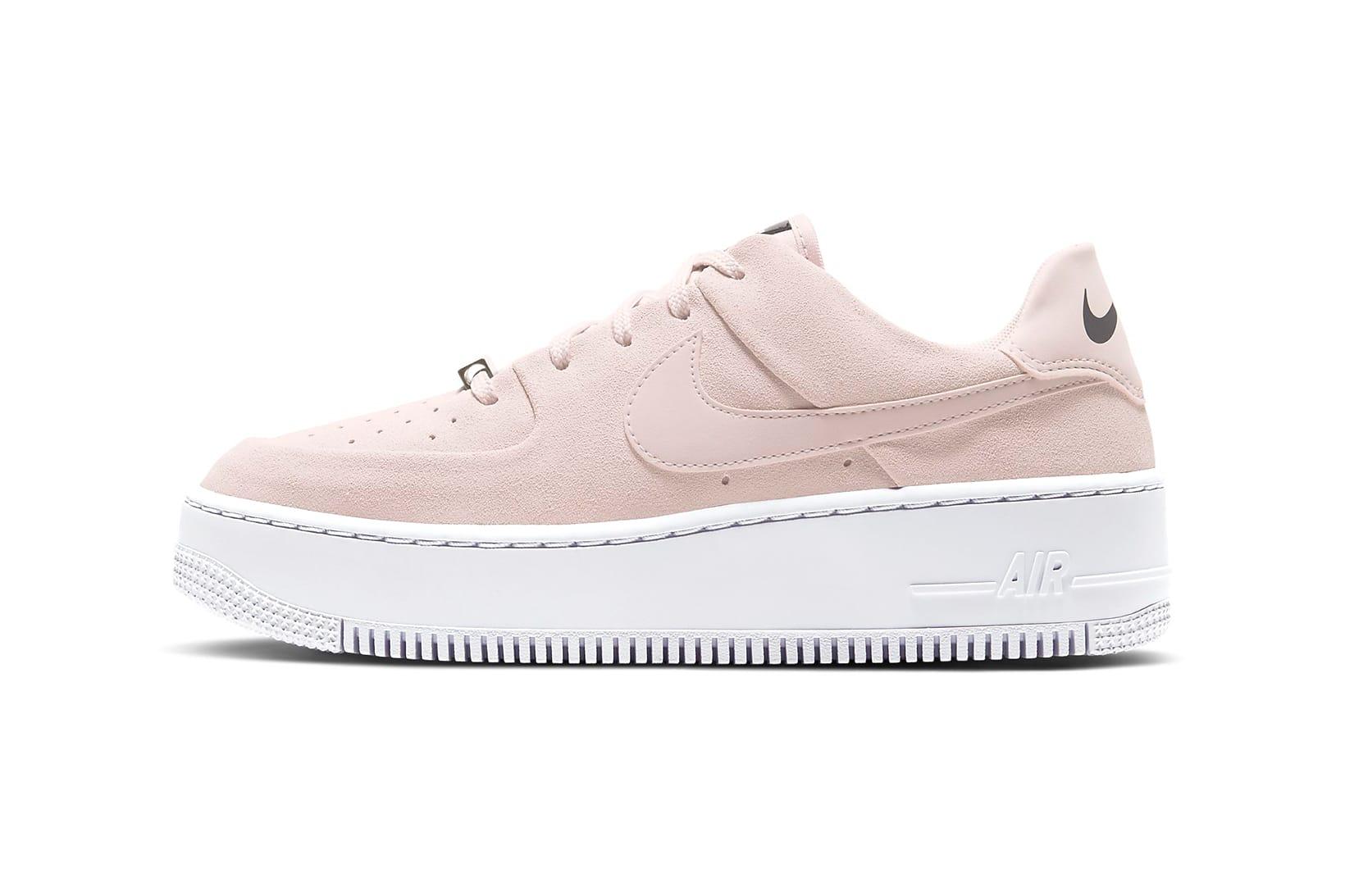 air force 1 sage low pink