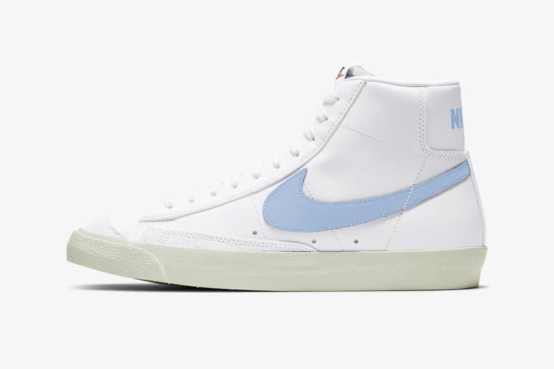 nike blazer mid 77 vintage pastel blue celestial sneakers release price