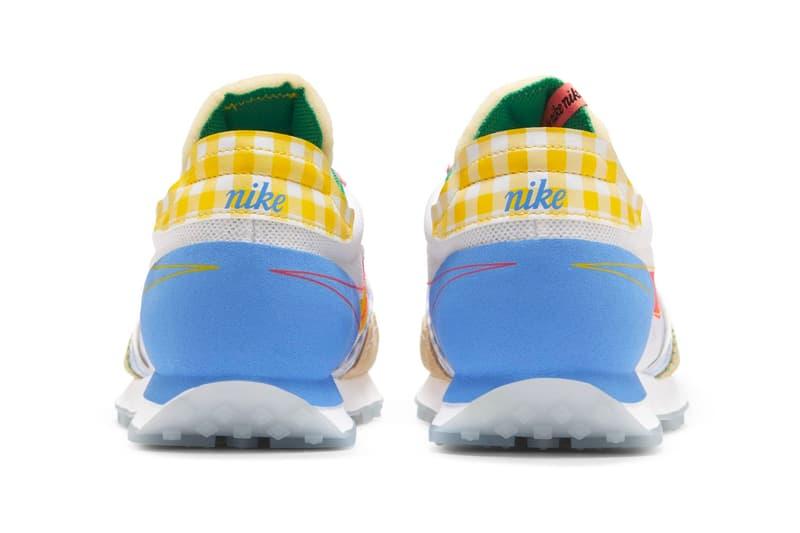 nike daybreak type n354 lost and found retro vintage mesh yellow blue sneakers korea release