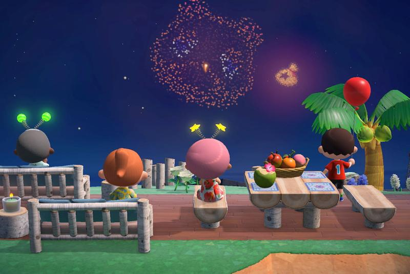 animal crossing fireworks customization how to new horizons acnh august update