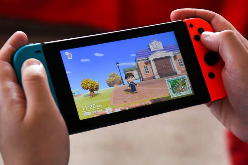 Nintendo Switch Animal Crossing Video Game Screen
