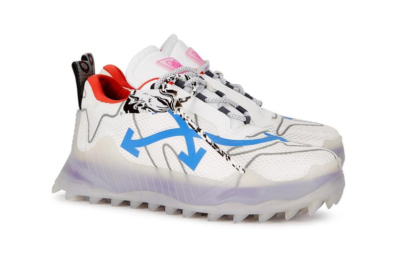 off-white odsy-1000 chunky sneakers new colorways release black blue red virgil abloh
