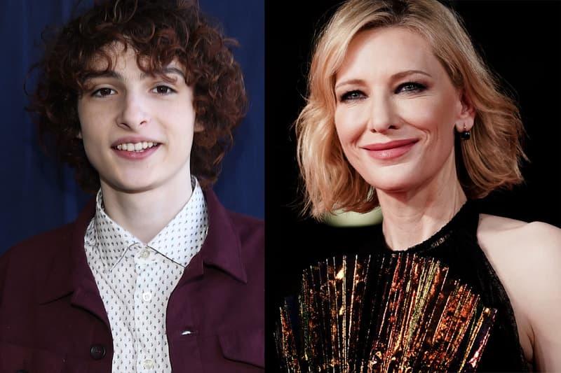 Finn Wolfhard Cate Blanchett Red Carpet