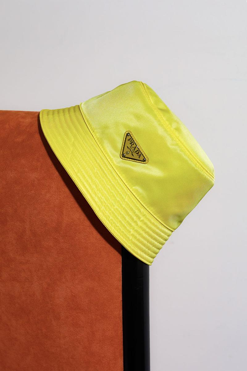 prada chinese valentines day qixi pastel yellow pink bucket hats re-edition bags