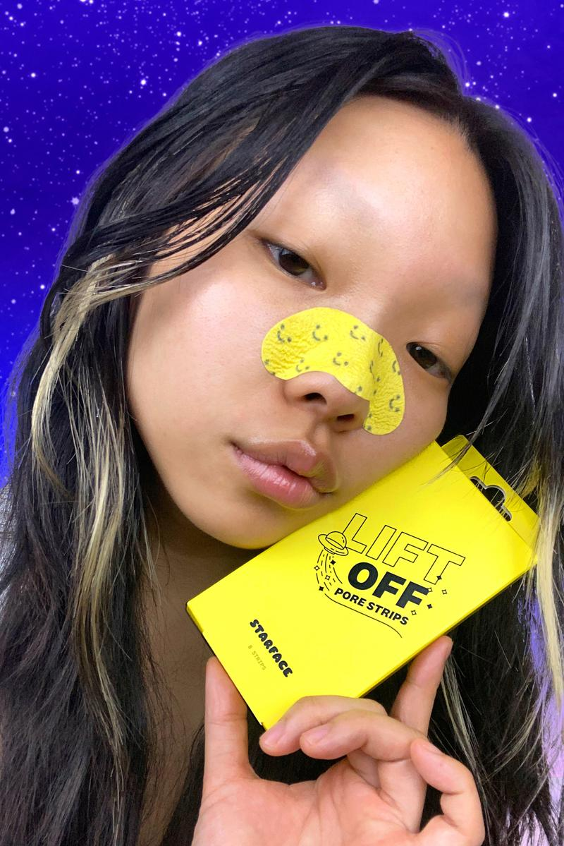 Starface Launches New Lift Off Pore Strips Blackhead Reduction Sebum Control