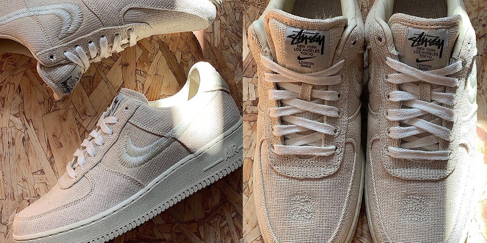 Stussy x Nike Air Force 1 Collaboration Release   HYPEBAE