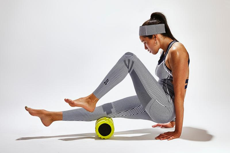 ph5 sustainable activewear line workout gym clothes foam roller