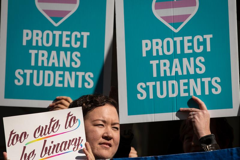 Federal Court Rules Equal Access to Bathrooms for Transgender Students LGBTQ+ Rights Public School