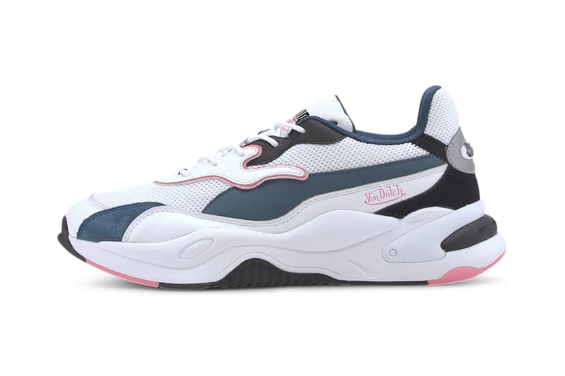 von dutch puma 2000s collaboration ralph sampson mid rs-2k future rider sneakers release